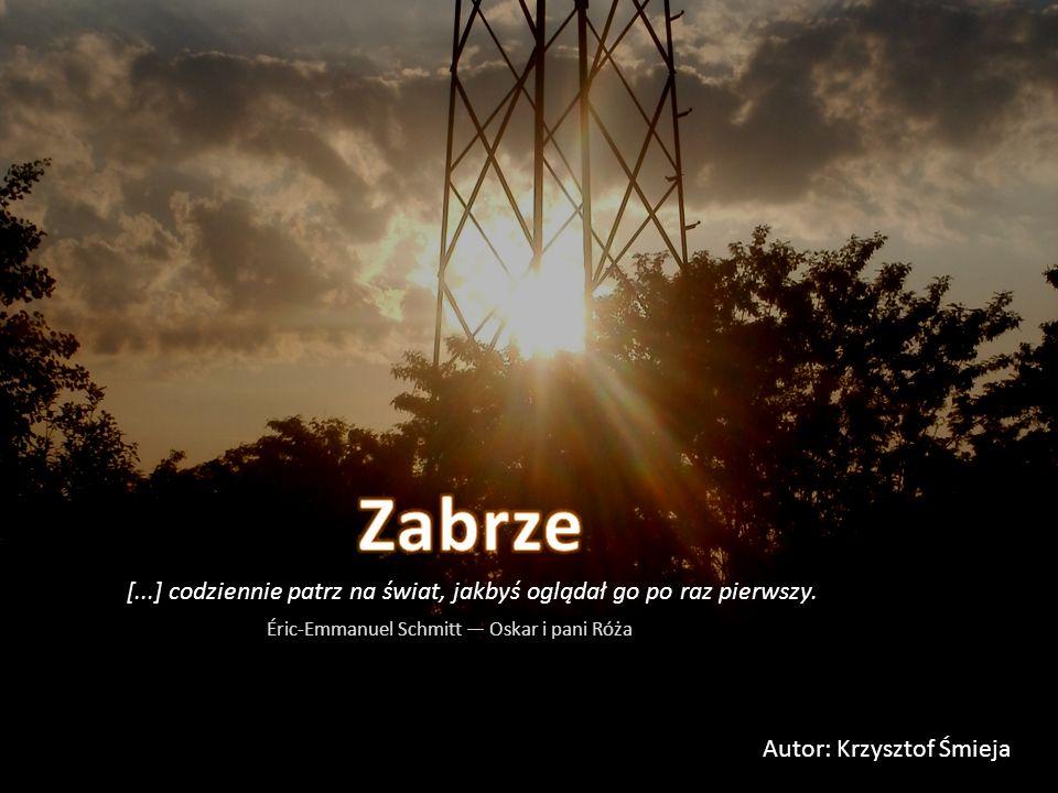 Autor: Krzysztof Śmieja [...] codziennie patrz na świat, jakbyś oglądał go po raz pierwszy. Éric-Emmanuel Schmitt — Oskar i pani Róża