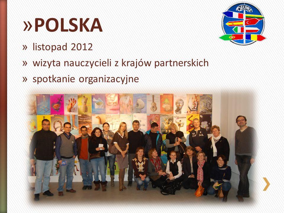 » POLSKA » listopad 2012 » wizyta nauczycieli z krajów partnerskich » spotkanie organizacyjne