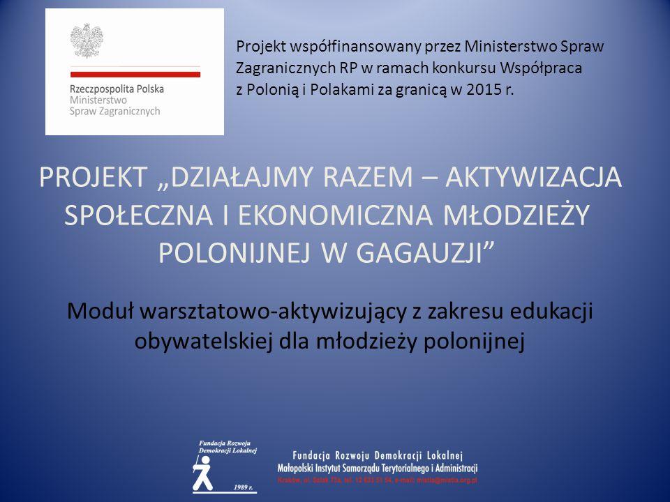 REŻIMY POLITYCZNE demokratycznyautorytarnytotalitarny Projekt jest współfinansowany ze środków finansowych otrzymanych z Ministerstwa Spraw Zagranicznych w ramach konkursu na realizację zadania Współpraca z Polonią i Polakami za granicą w 2015 r.