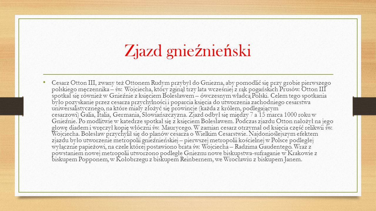 Ż ycie Boles ł awa Chrobrego przed obj ę ciem w ł adzy W 973 roku zdecydowano o wysłaniu Bolesława do Niemiec jako osoby gwarantującej postanowienia zjazdu w Kwedlinburgu.