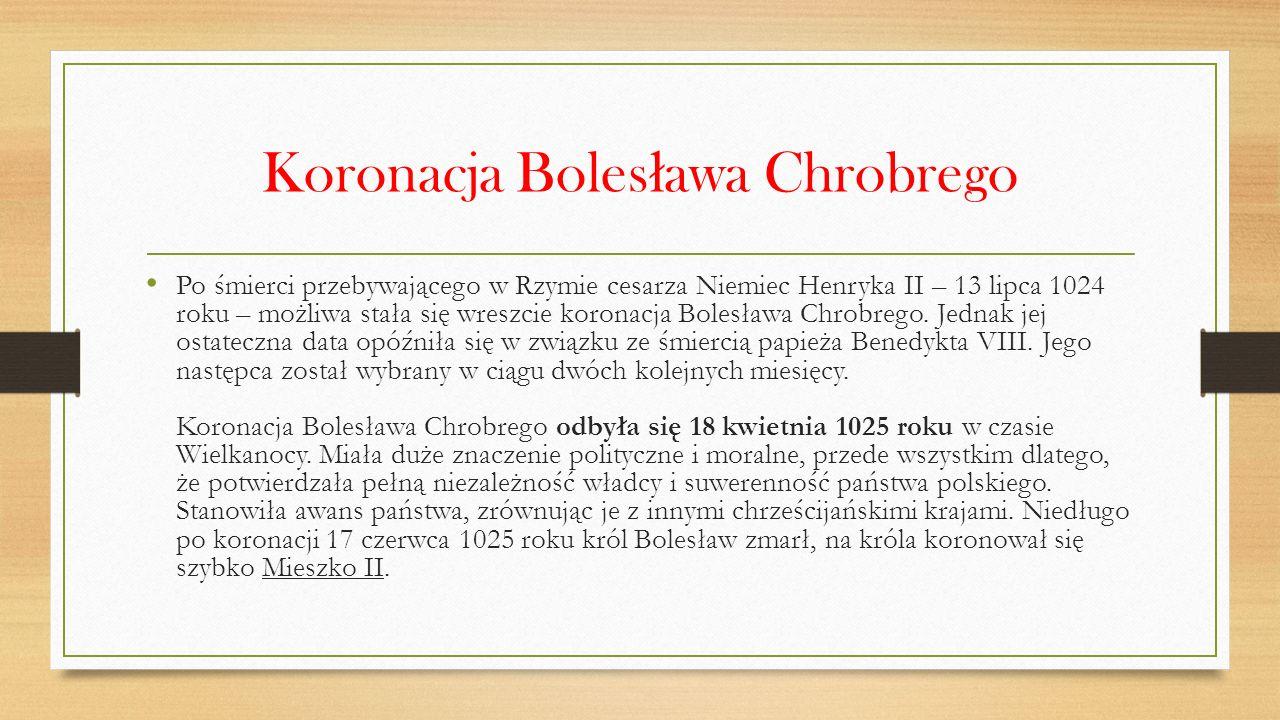 Zjazd gnie ź nie ń ski Cesarz Otton III, zwany też Ottonem Rudym przybył do Gniezna, aby pomodlić się przy grobie pierwszego polskiego męczennika – św.