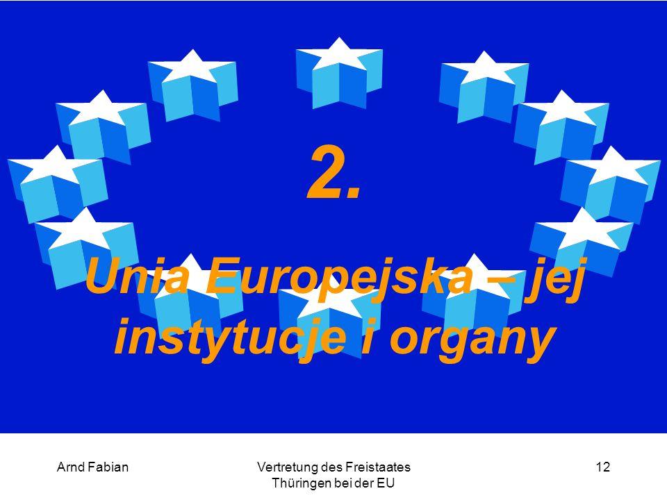 Arnd FabianVertretung des Freistaates Thüringen bei der EU 12 2.