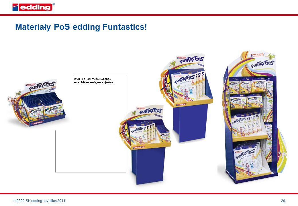 110302-SH edding novelties 201120 Materiały PoS edding Funtastics!