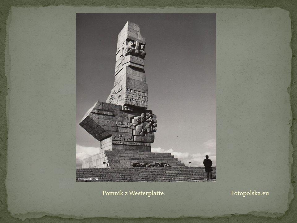 Pomnik z Westerplatte. Fotopolska.eu