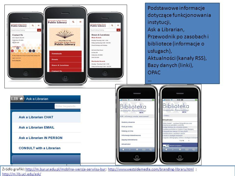 2016-09-19 Podstawowe informacje dotyczące funkcjonowania instytucji, Ask a Librarian, Przewodnik po zasobach i bibliotece (informacje o usługach), Ak