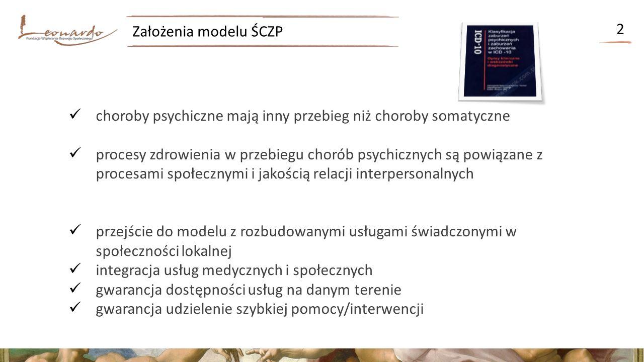Proces zdrowienia w ŚCZP 3 I.odzyskiwanie samosterowności w różnych obszarach życia przez osoby z doświadczeniem choroby psychicznej II.odbudowa sieci satysfakcjonujących relacji interpersonalnych przez osoby z doświadczeniem choroby psychicznej