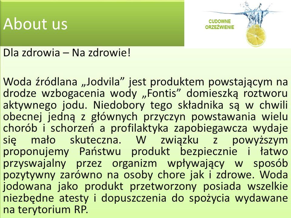 About us Dla zdrowia – Na zdrowie.