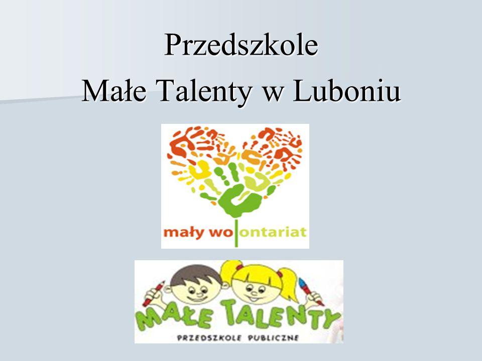 Przedszkole Małe Talenty w Luboniu