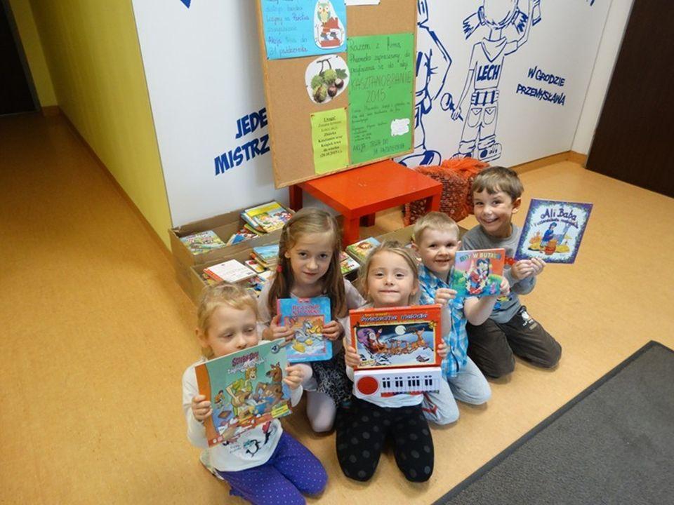 Naszą ostatnią akcją w tym roku przedszkolnym była zbiórka darów dla dzieci z domów dziecka w Poznaniu.