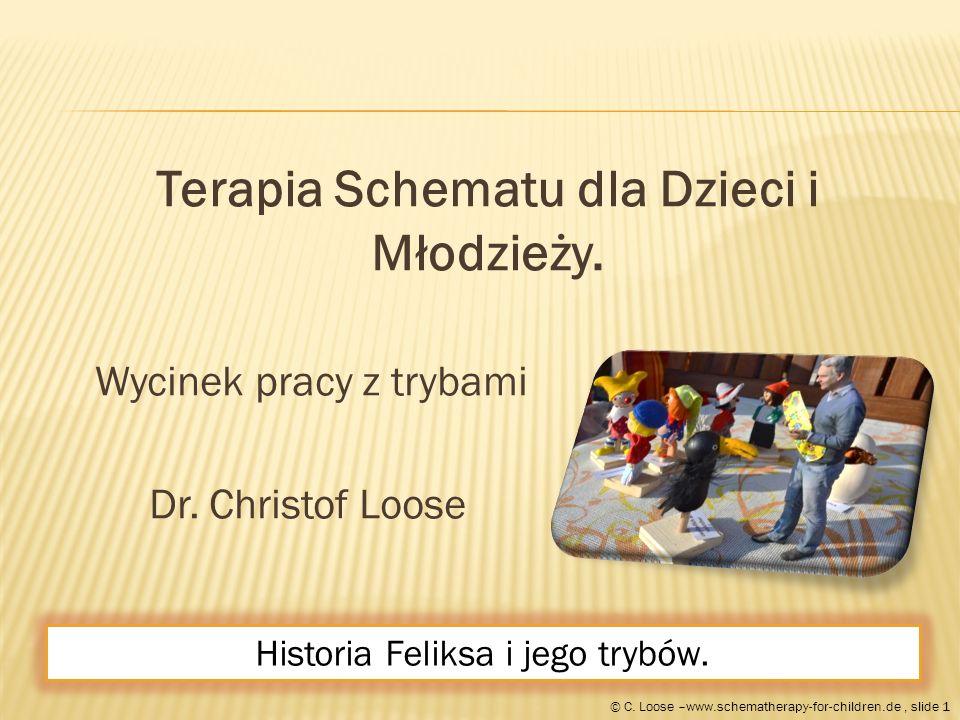 Terapia Schematu dla Dzieci i Młodzieży. Wycinek pracy z trybami Dr.