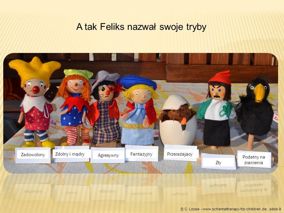 Proces Felix'a podczas terapii.Zdjęcia chłopca są wzięte z fotalia®.