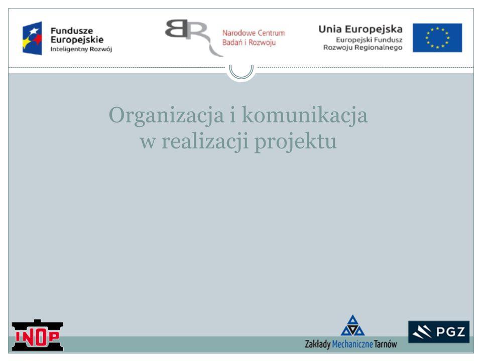 Organizacja i komunikacja w realizacji projektu