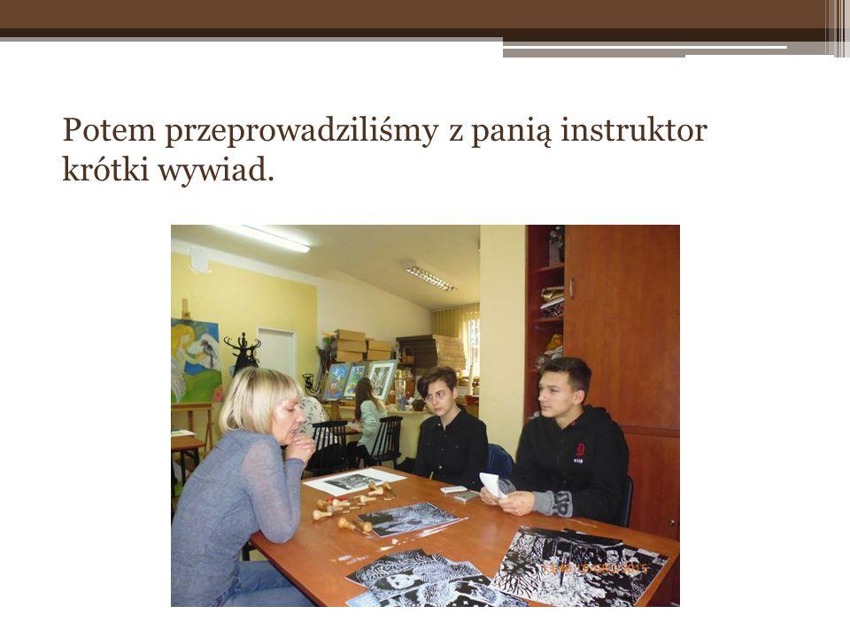 Zaprosiliśmy do jury instruktor plastyki, panią Alicję Romanow, która wraz z nami oceniła prace.