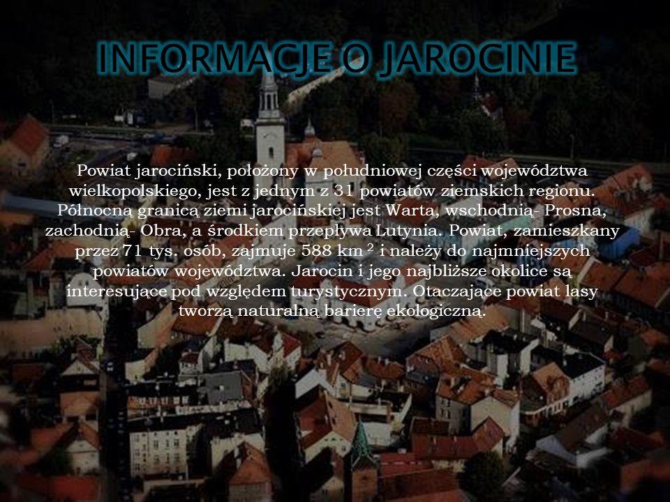 Powiat jarociński, położony w południowej części województwa wielkopolskiego, jest z jednym z 31 powiatów ziemskich regionu.
