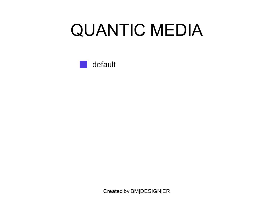 Created by BM|DESIGN|ER QUANTIC MEDIA default
