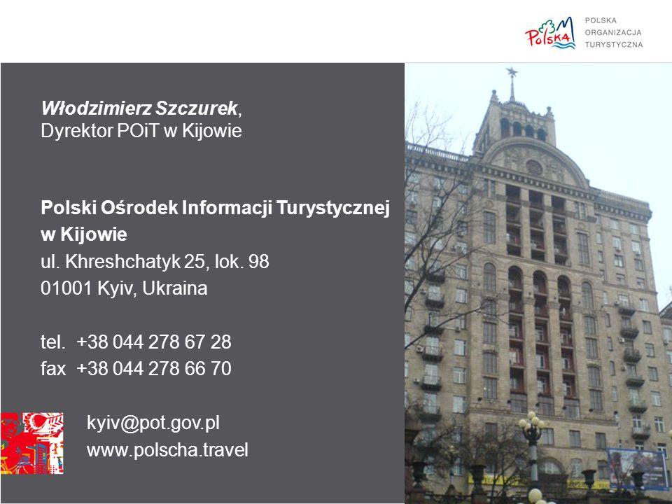 Włodzimierz Szczurek, Dyrektor POiT w Kijowie Polski Ośrodek Informacji Turystycznej w Kijowie ul.