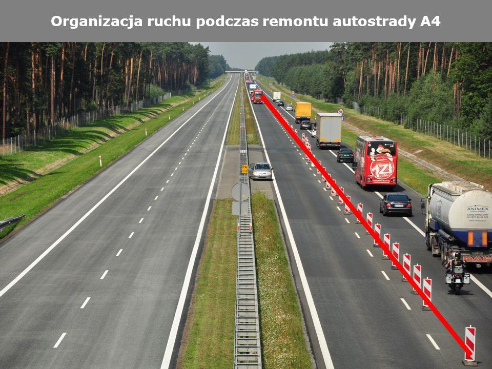 12 Organizacja ruchu podczas remontu autostrady A4