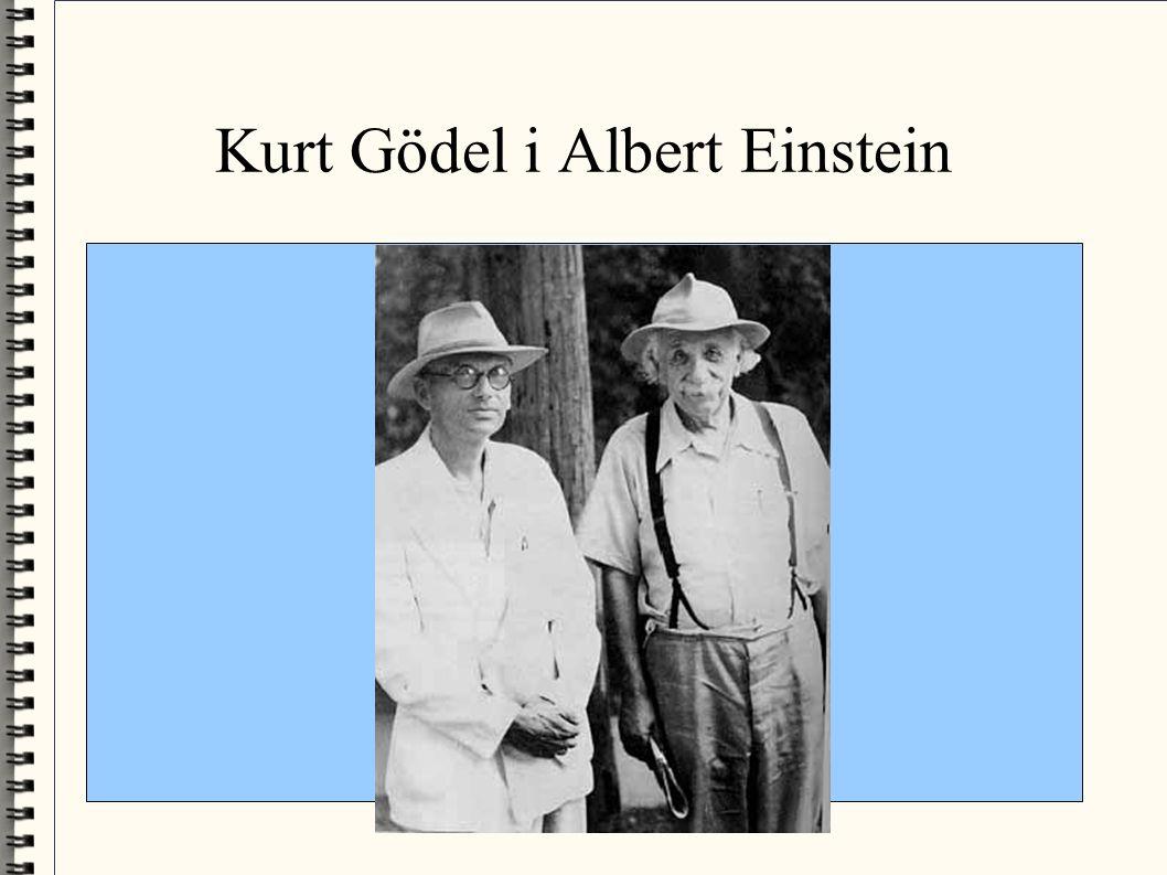 Kurt Gödel i Albert Einstein