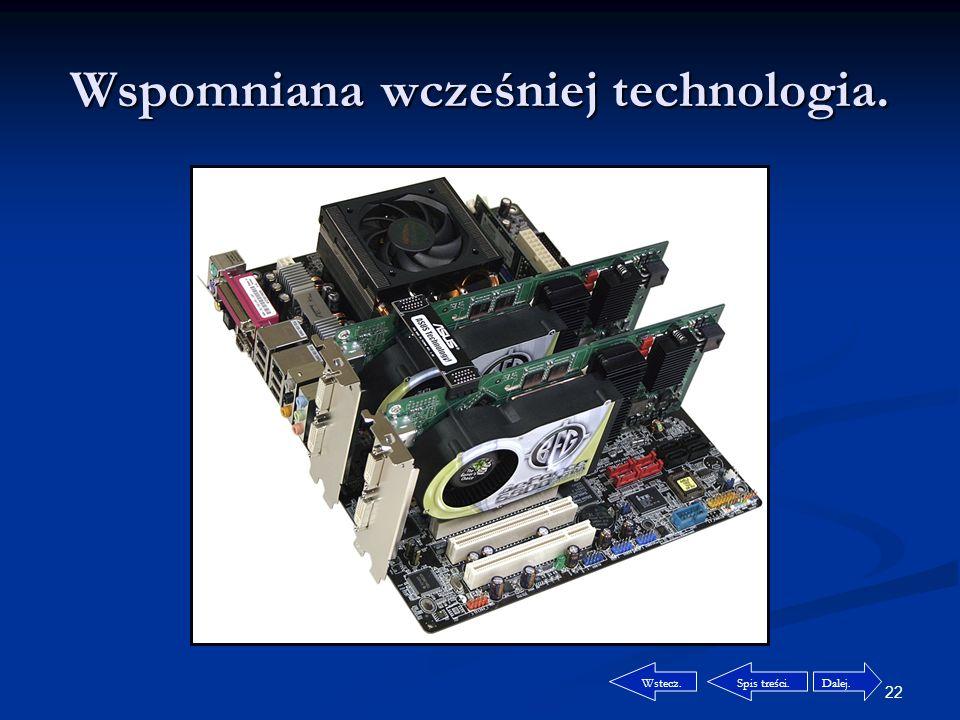 21 Technologia SLI. Czym jest technologia NVIDIA SLI.