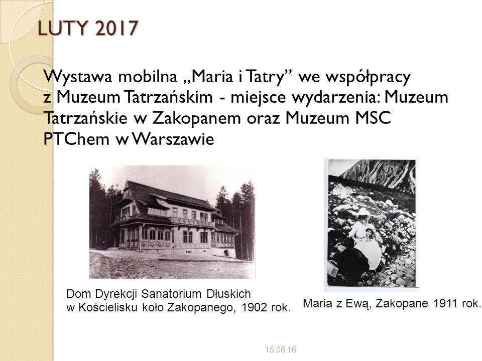 LUTY 2017 15.06.16 Maria z Ewą, Zakopane 1911 rok.