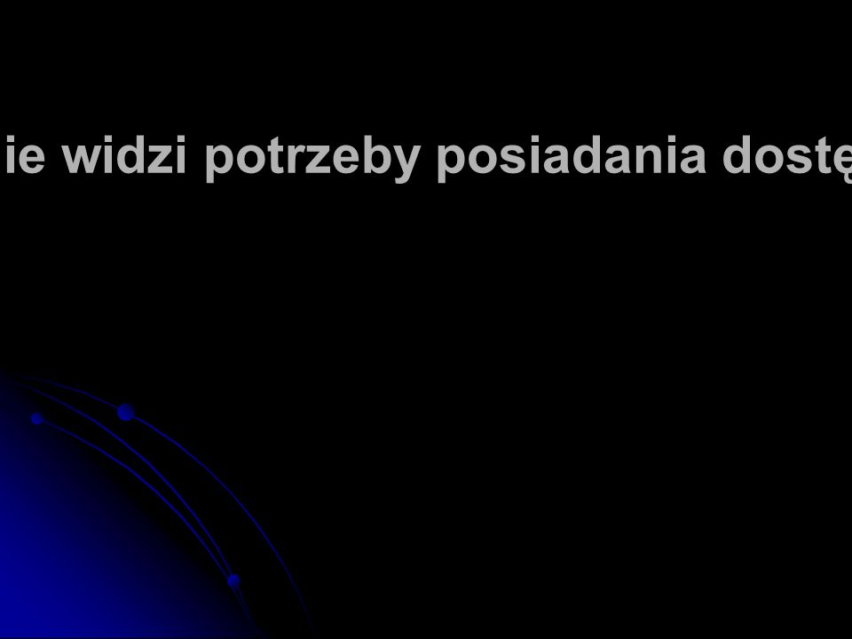 43% Polaków nie widzi potrzeby posiadania dostępu do internetu
