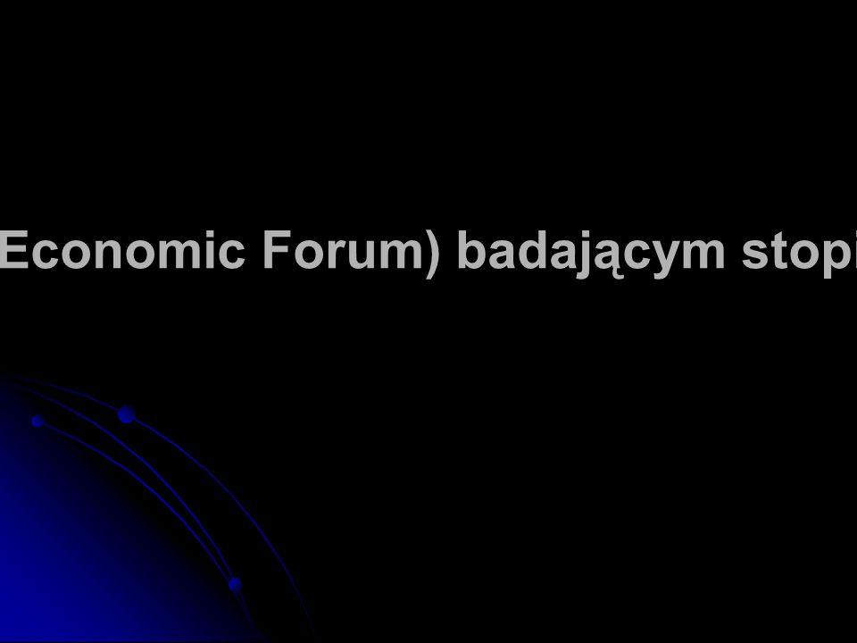 W rankingu Networked Readiness Index (World Economic Forum) badającym stopień wykorzystania sieci Polska zajęła 58 miejsce.