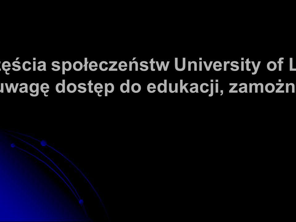 Ranking szczęścia społeczeństw University of Leicester biorący pod uwagę dostęp do edukacji, zamożność i zdrowie: Finlandia - 6 Polska -
