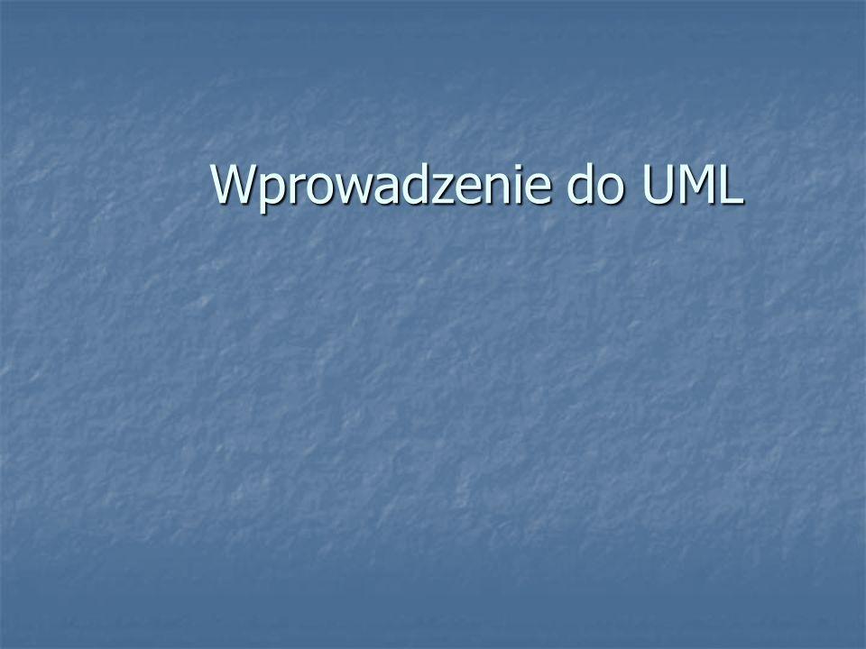Wprowadzenie do UML