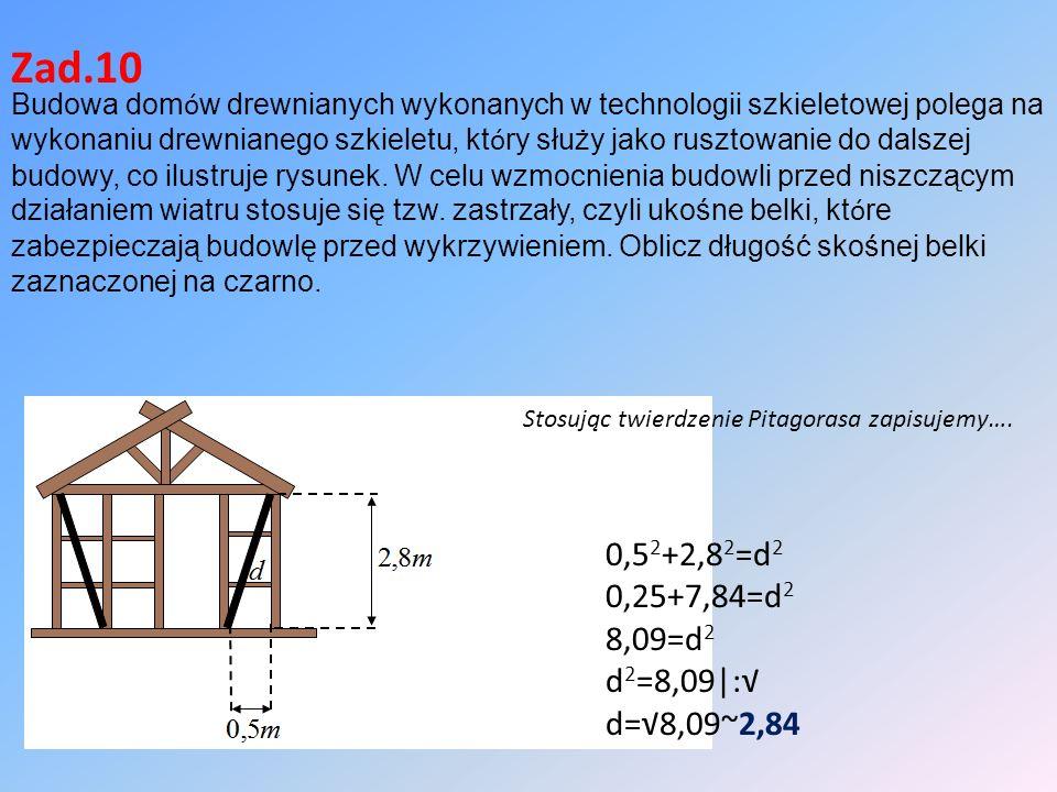 Budowa dom ó w drewnianych wykonanych w technologii szkieletowej polega na wykonaniu drewnianego szkieletu, kt ó ry służy jako rusztowanie do dalszej budowy, co ilustruje rysunek.
