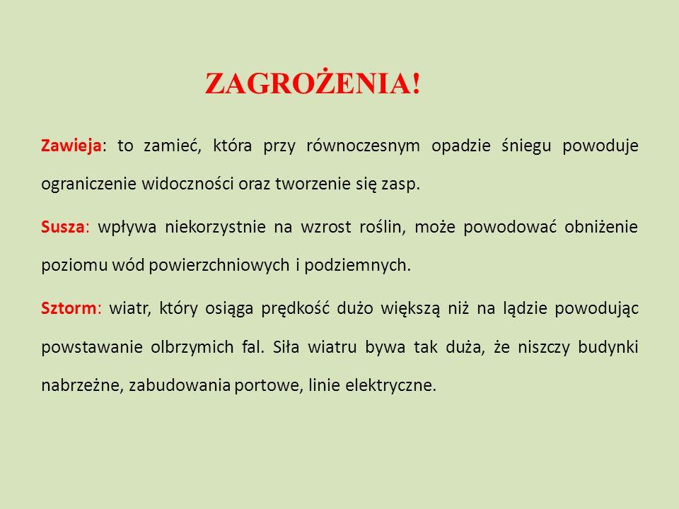 Rekordy klimatyczne Polski