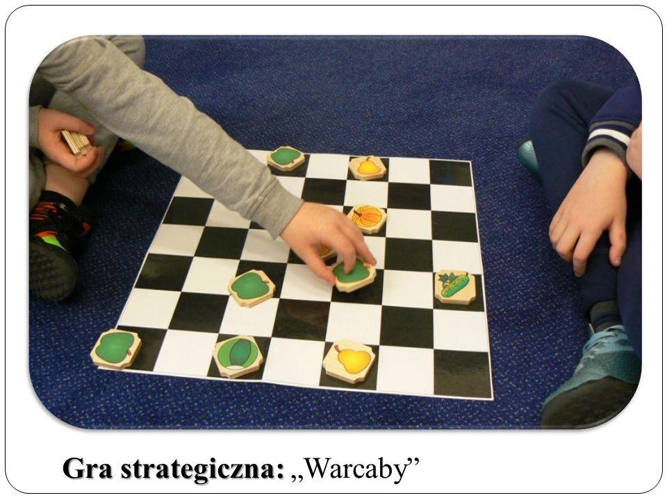 """Gra strategiczna: Gra strategiczna: """"Warcaby"""