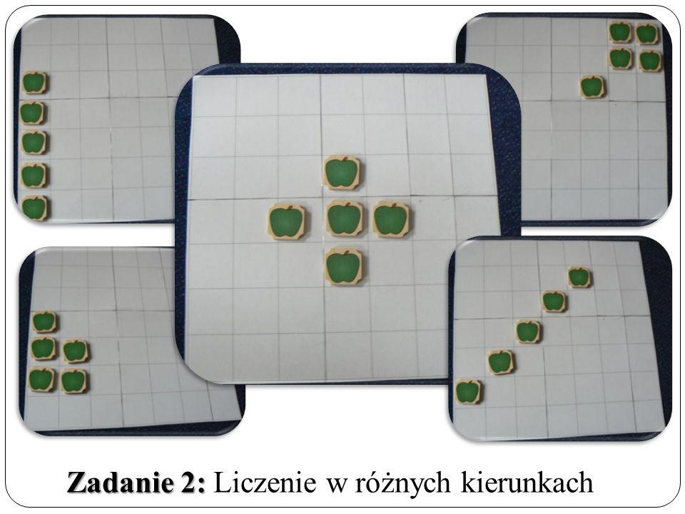 Zadanie 2: Zadanie 2: Liczenie w różnych kierunkach
