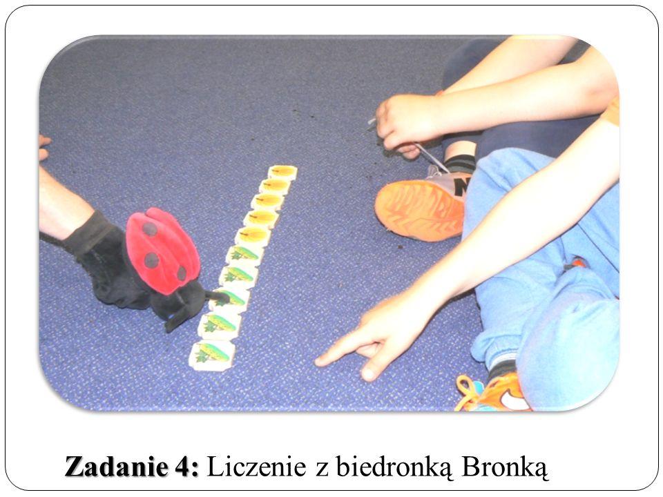 Zadanie 4: Zadanie 4: Liczenie z biedronką Bronką