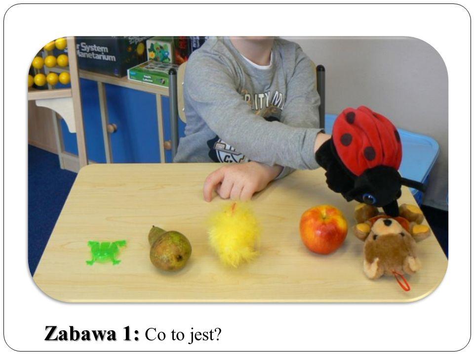 Ile? Włóż tyle jabłek, ile wskazuje liczba.