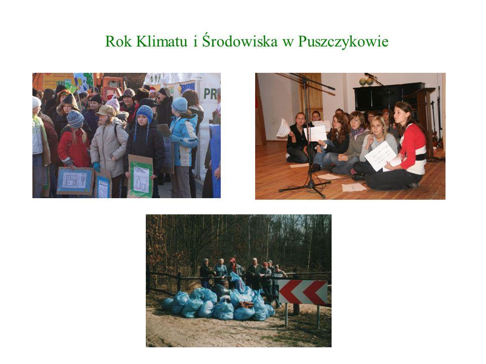 """Uczestnictwo w konferencji """"Zrównoważone gospodarowanie energią i odpadami w aspekcie zmian klimatu , podczas której Puszczykowo zaprezentowało na dwóch oryginalnych posterach program """"Czyste Puszczykowo ."""