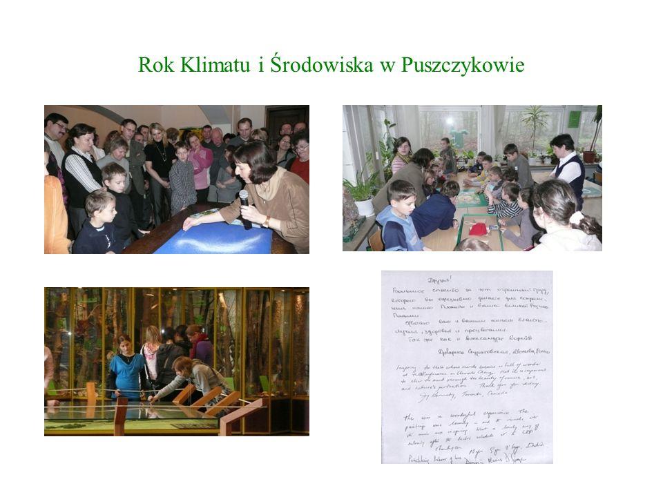 Rok Klimatu i Środowiska w Puszczykowie Sukcesy 20 maja 2008r.