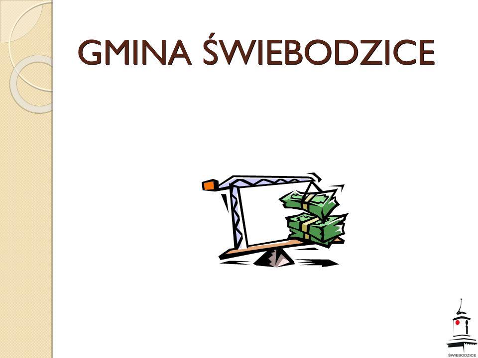 Sprawozdanie z wykonania budżetu za rok 2009 GMINA ŚWIEBODZICE