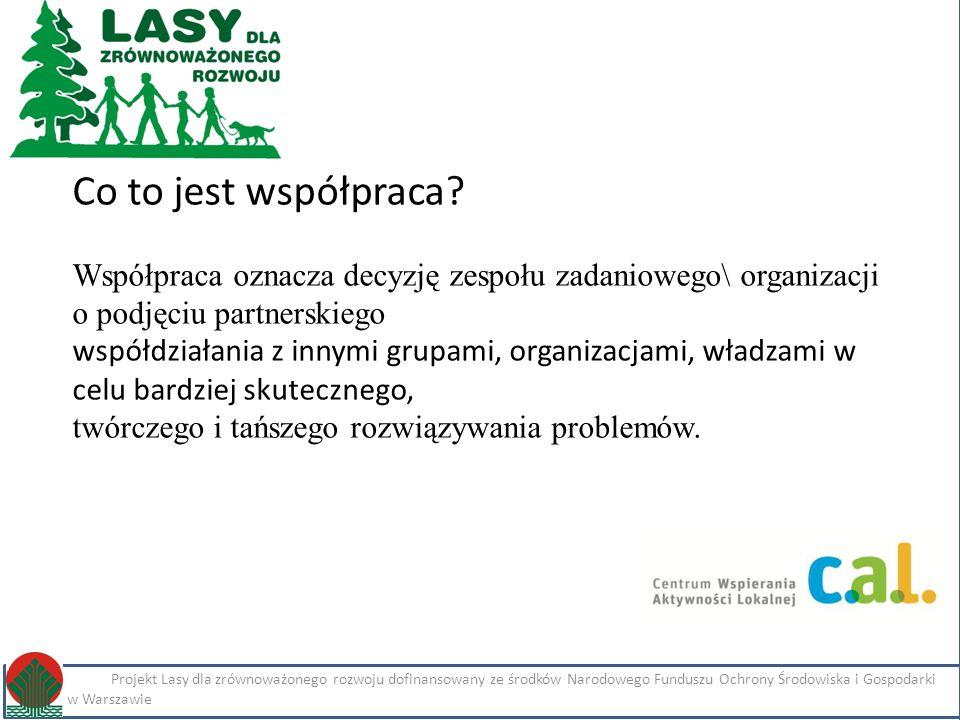 Kliknij, aby edytować styl Projekt Lasy dla zrównoważonego rozwoju dofinansowany ze środków Narodowego Funduszu Ochrony Środowiska i Gospodarki Wodnej w Warszawie Imię i nazwisko Projekt Lasy dla zrównoważonego rozwoju dofinansowany ze środków Narodowego Funduszu Ochrony Środowiska i Gospodarki Wodnej w Warszawie Co to jest współpraca.