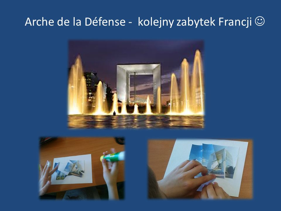 Arche de la Défense - kolejny zabytek Francji