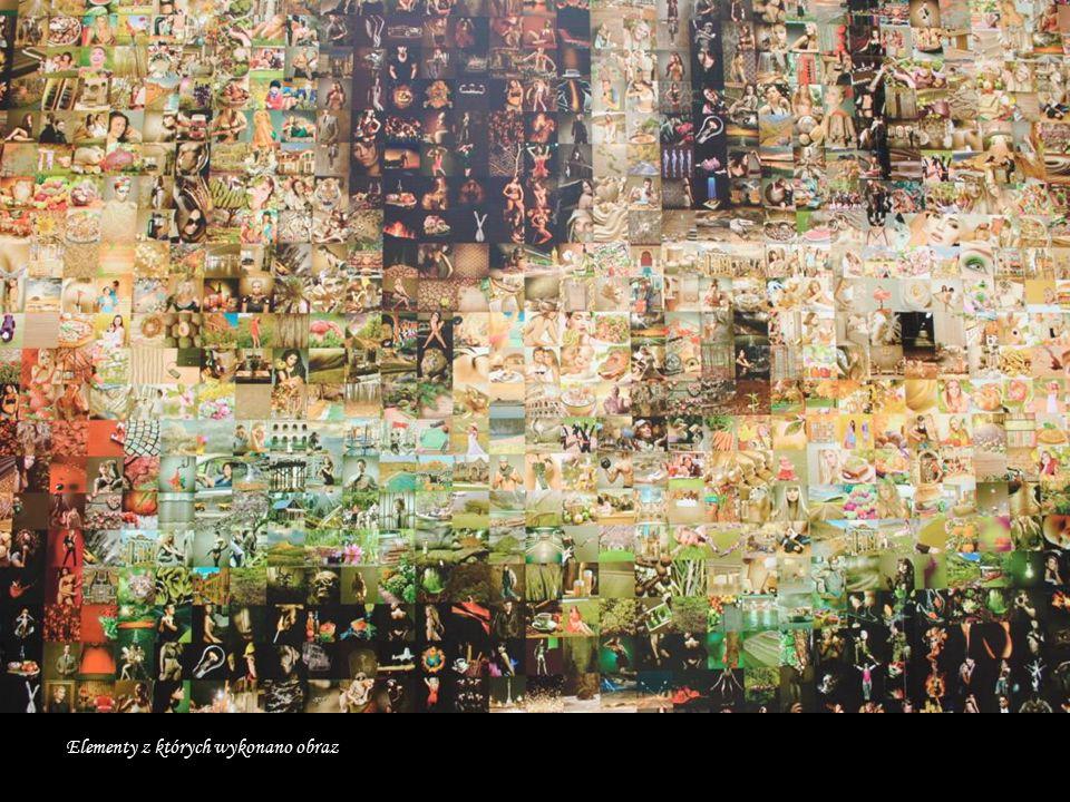 Kopia Wieży Babel wykonana przez studentów na murze