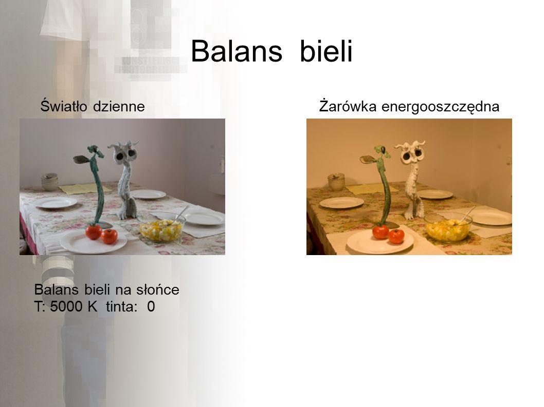 Balans bieli Światło dzienneŻarówka energooszczędna Balans bieli na słońce T: 5000 K tinta: 0