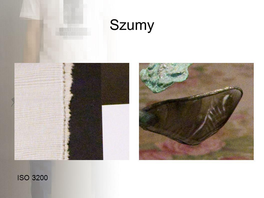 Szumy ISO 3200