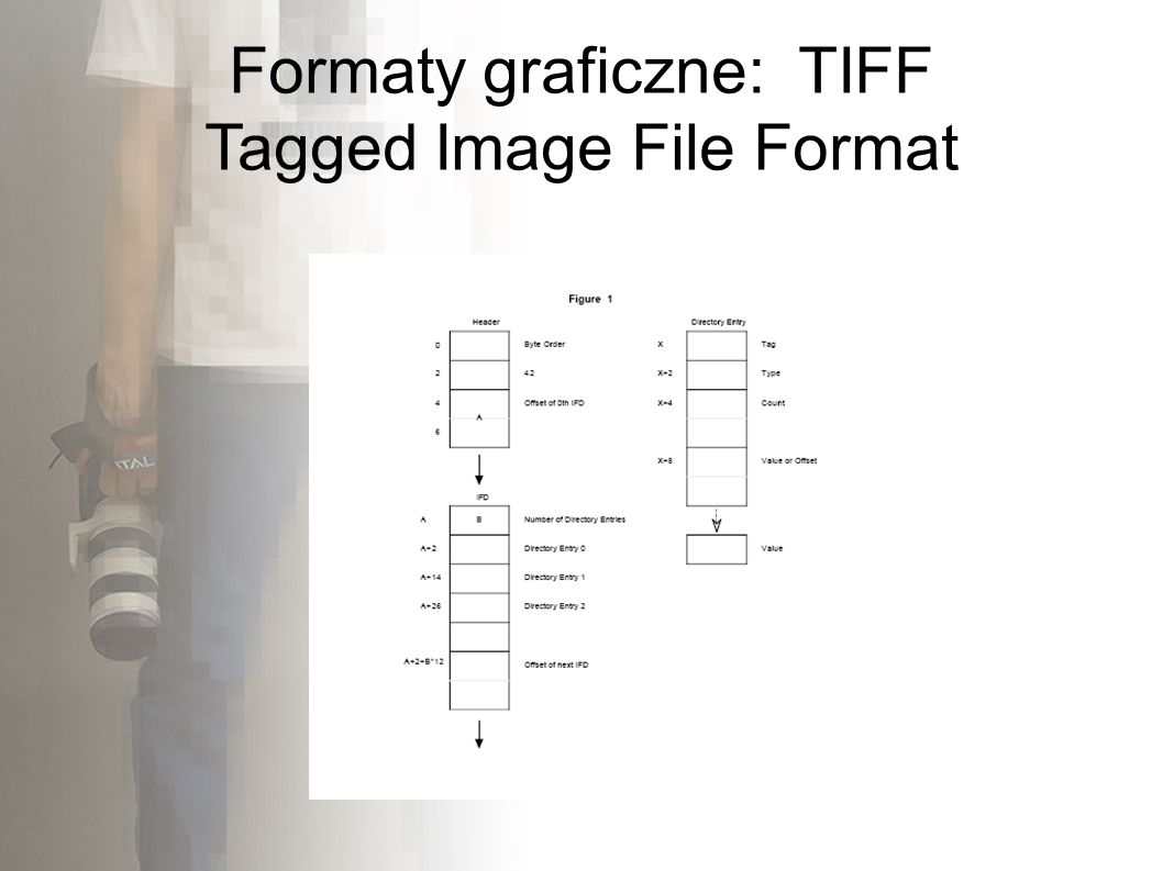 Formaty graficzne: TIFF Tagged Image File Format