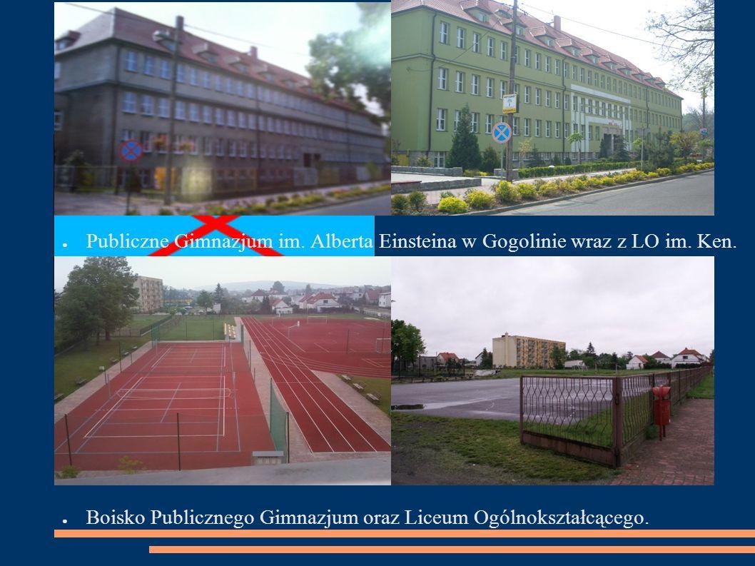 ● Publiczne Gimnazjum im. Alberta Einsteina w Gogolinie wraz z LO im.