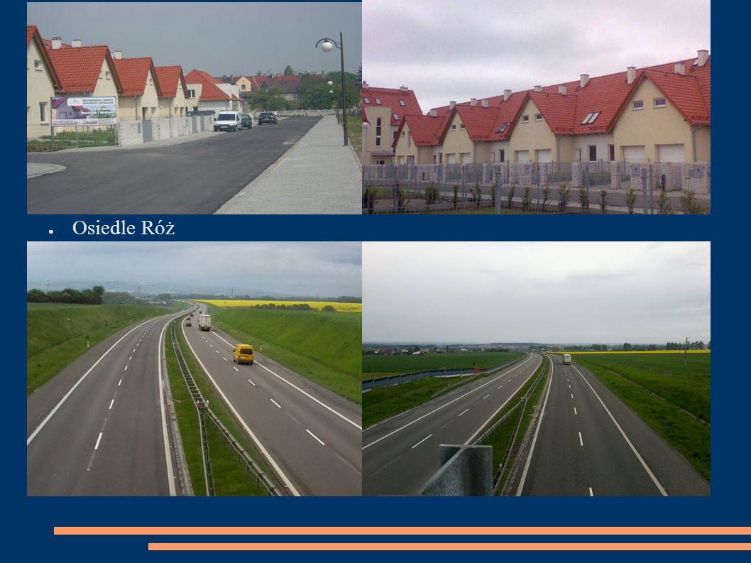 ● Osiedle Róż ● Odcinek autostrady A4, Wrocław-Gliwice