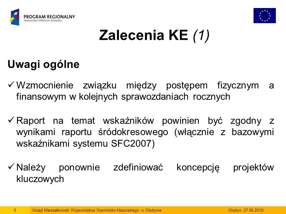 4Urząd Marszałkowski Województwa Warmińsko-Mazurskiego w Olsztynie Olsztyn, 27.06.2012r.