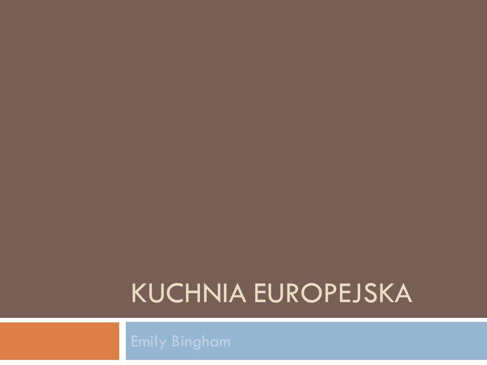Czechy  Kuchnia czeska podlegała wpływom kuchni krajów sąsiednich: Polski, Bawarii, Austrii, Węgier i Słowacji.