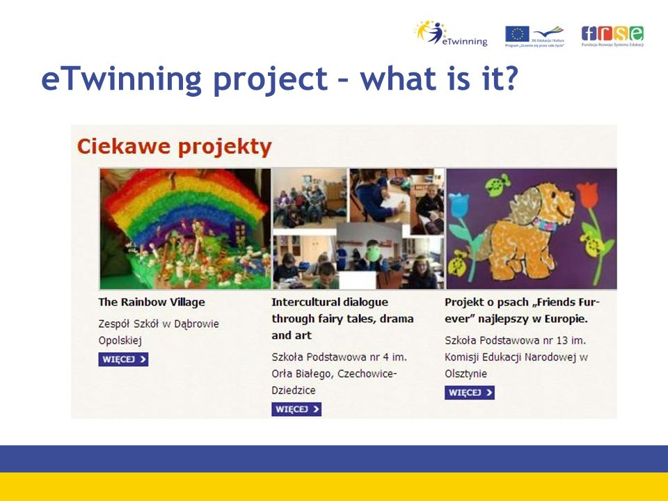 eTwinning project – what is it?