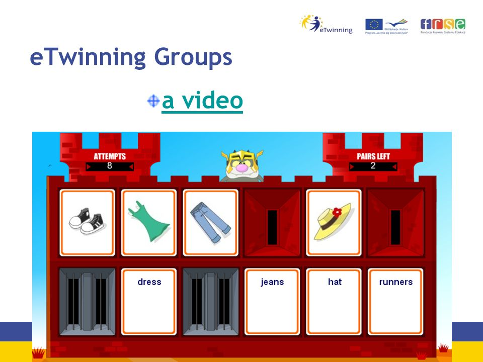 eTwinning Groups a video