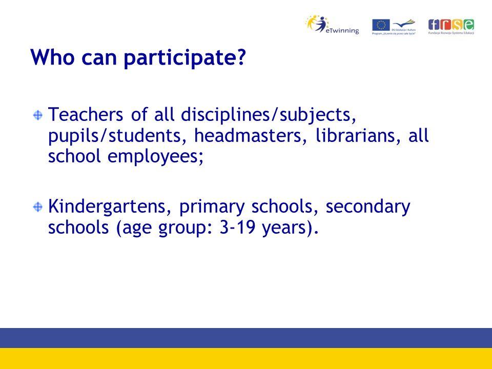 National PL portal www.etwinning.pl Registration Representatives Publications News and events Competitions Quality Labels Teachers' Professional Development Inspirations